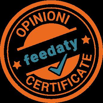 Opinioni certificate Feedaty